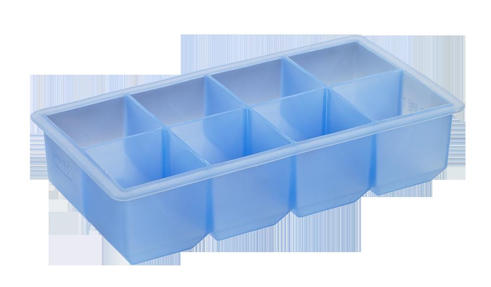 Eiswürfelbereiter Würfel 5x5cm eisblau