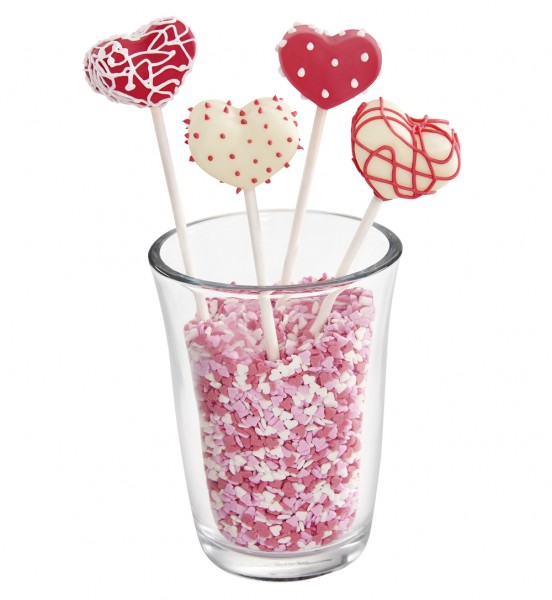 Flexiform Cake Pops Herz 20fach cotton candy