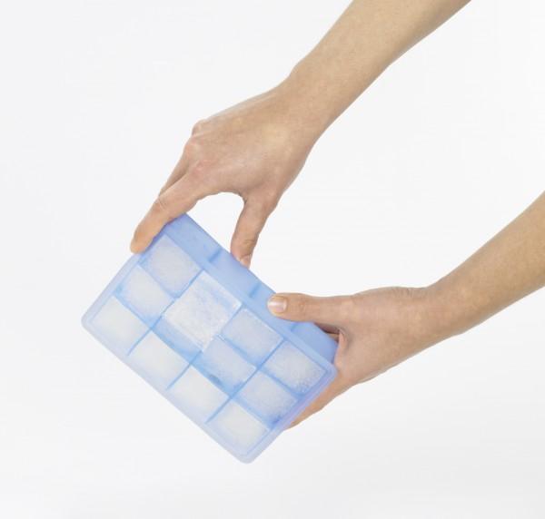 Eiswürfelbereiter Würfel Whisky 4x4cm eisblau