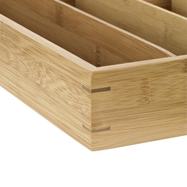 Besteckkasten Bambus groß 446x305x65mm