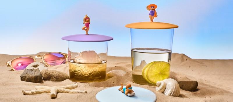 Mein Deckel Beach Girls von Lurch - Silikondeckel