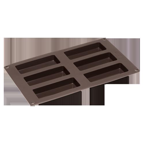 Flexiform Müsliriegel 30x17,5cm 6fach braun