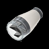 Vorschau: Minihacker steingrau/weiß