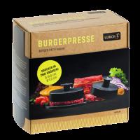 Vorschau: Burgerpresse Size M+L 3tlg steingrau/weiß