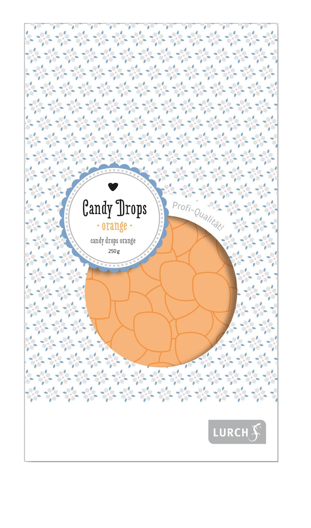 Candy Drops orange 250g Beutel