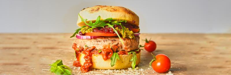 Chicken Mediterran Burger
