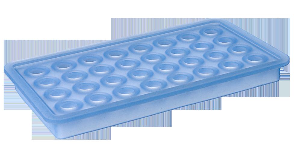 Eiswürfelbereiter Kugeln Ø20mm eisblau