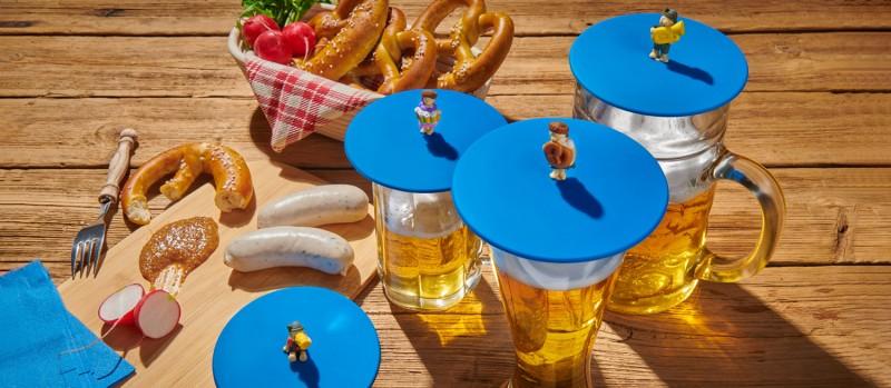 Mein Deckel Biergarten von Lurch - Silikondeckel