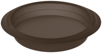 Vorschau: Flexiform Rund 26cm braun