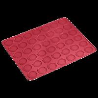 Vorschau: Flexiform Backmatte Macaron 38x30cm ruby
