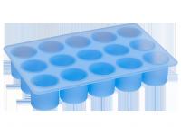Vorschau: Eiswürfelbereiter Zylinder Ø3cmx3cm eisblau