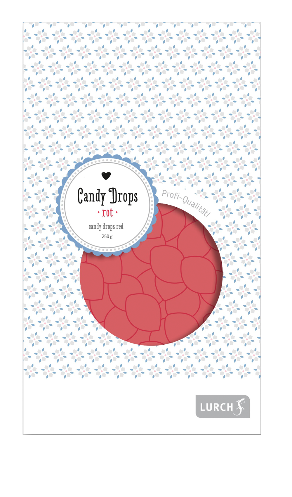 Candy Drops rot 250g Beutel