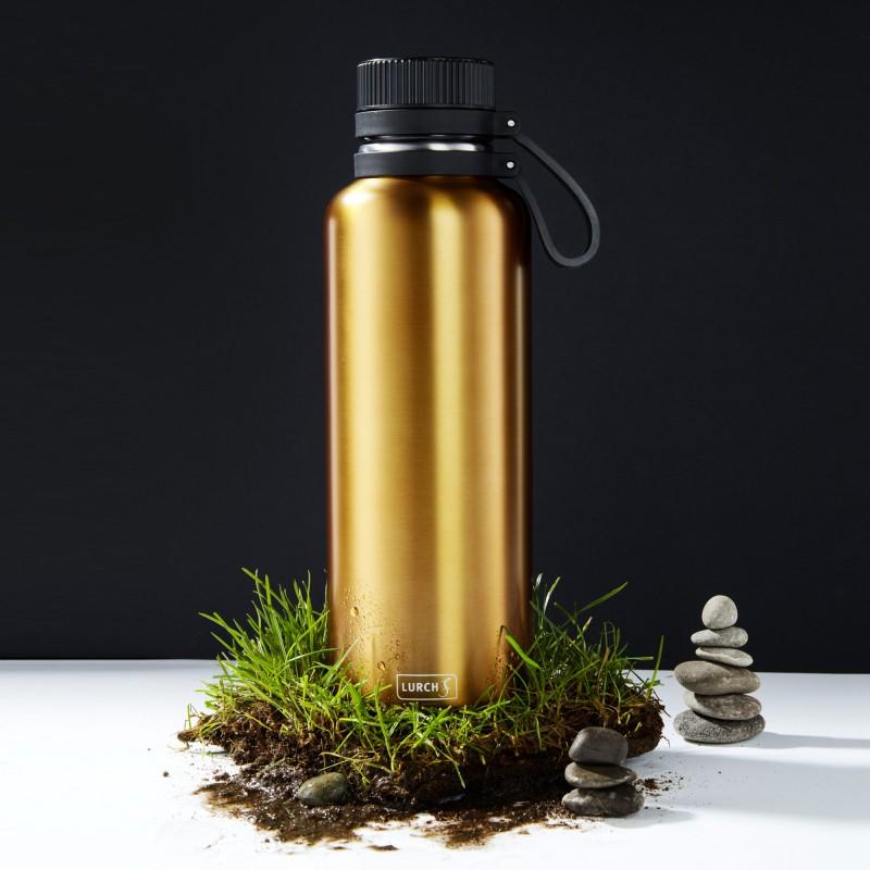 Lurch Isolierflaschen Outdoor aus doppelwandigem Edelstahl