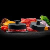 Vorschau: Burgerpresse 3teilig iron grey