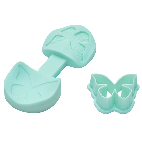 3D-Former Schmetterling mint-ice