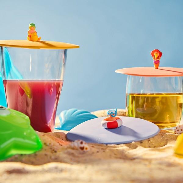 Mein Deckel Beach Kids alle Motive im 3er Set