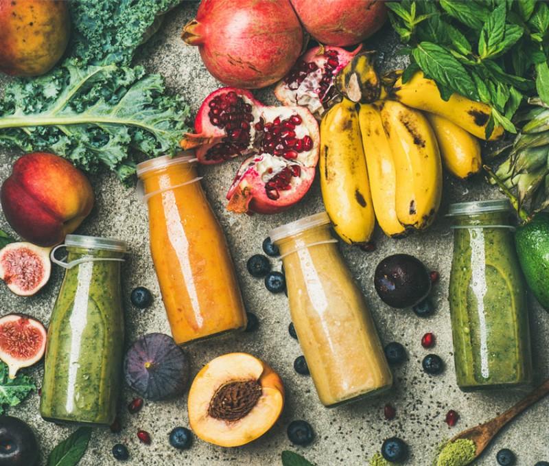 Saft, Zutaten, Obst, Gemüse
