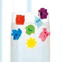 Vorschau: Glasmarkierer Silikon FancyRings 12erSet