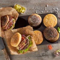 Vorschau:  FlexiForm Burger Buns groß Ø 10 cm