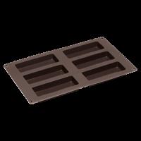 Vorschau: Flexiform Müsliriegel 30x17,5cm 6fach braun