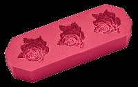 Vorschau: Flexiform Prägeform Rosen 30mm cotton candy