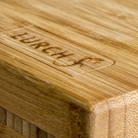Vorschau: Schneidbrett Bambus groß 500x400x45mm