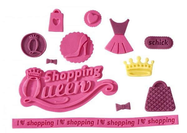 Flexiform Shopping Queen Prägematte Lilly pink