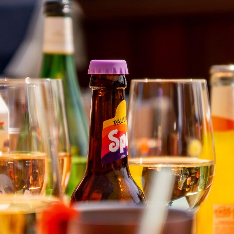 Lurch Kronkorken aus Silikon in 12 Farben für alle herkömmlichen Flaschen