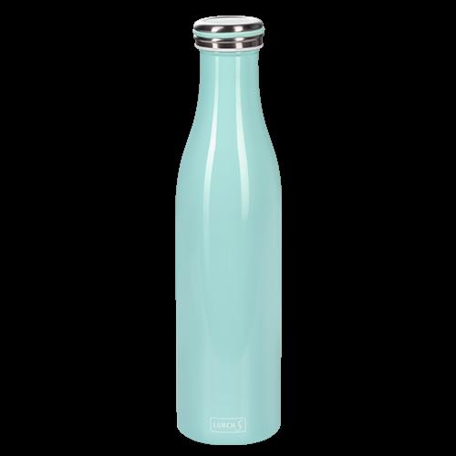 Isolier-Flasche Edelstahl 0,75l mint