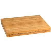 Vorschau: Schneidbrett Bambus klein 300x400x45mm
