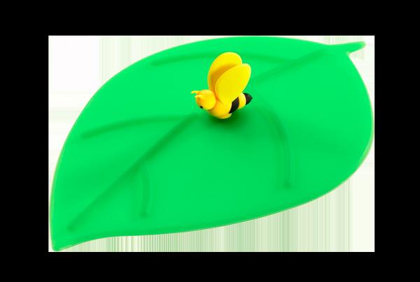 Mein Deckel Blatt Biene