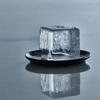Vorschau: ICE FORMER Würfel 5x5cm schwarz transparent