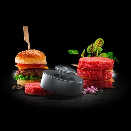 Burgerpresse Size S iron grey