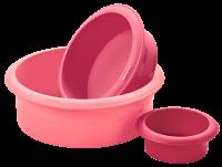 Vorschau: Flexiform Tortenform 3er Set Candy Mix
