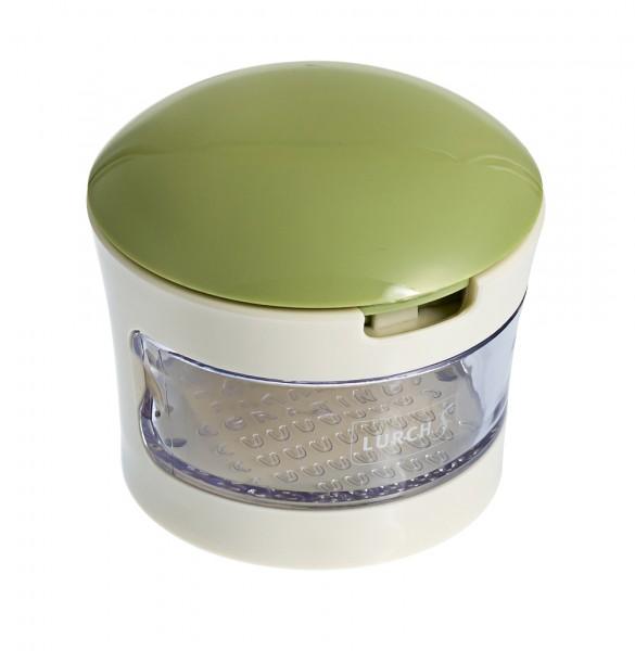 Mini-Knoblauchschneider grün