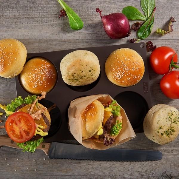 FlexiForm Burger Bun klein Ø 8,5 cm