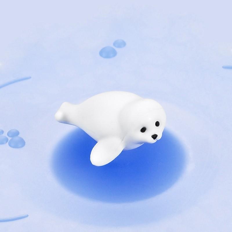 Mein Deckel Arctic Summer Robbe aus Silikon von Lurch