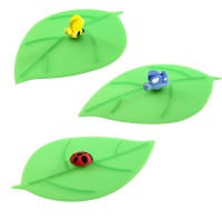 Vorschau: Mein Deckel Blatt Schmetterling blau