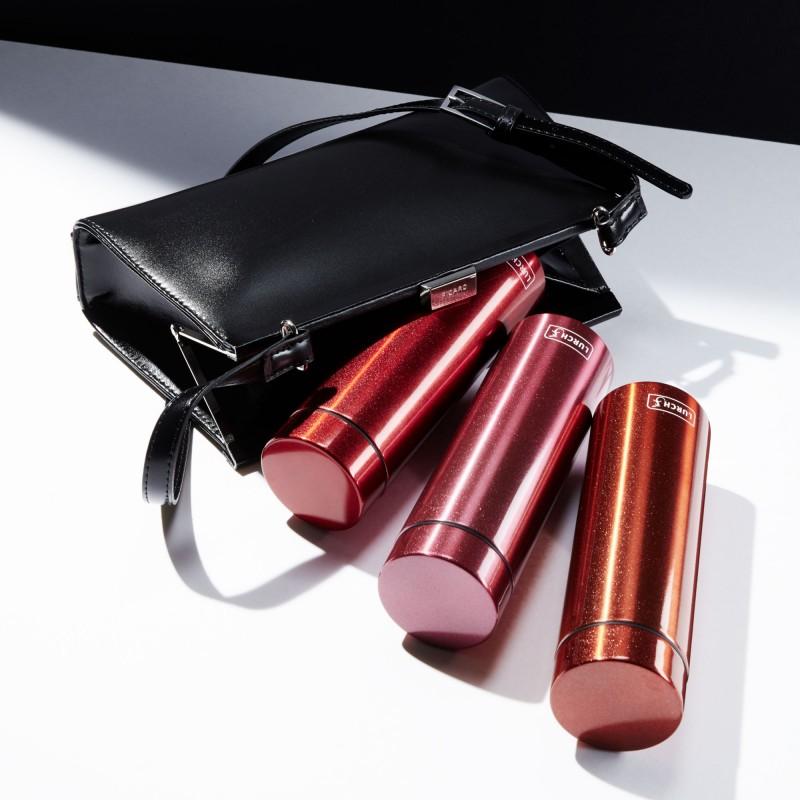 Lurch Isolierflaschen Lipstick aus doppelwandigem Edelstahl