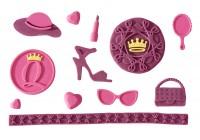 Vorschau: Flexiform Shopping Queen Prägematte Lena pink