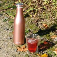 Vorschau: Thermo-Flasche Edelstahl 0,5l rosegold