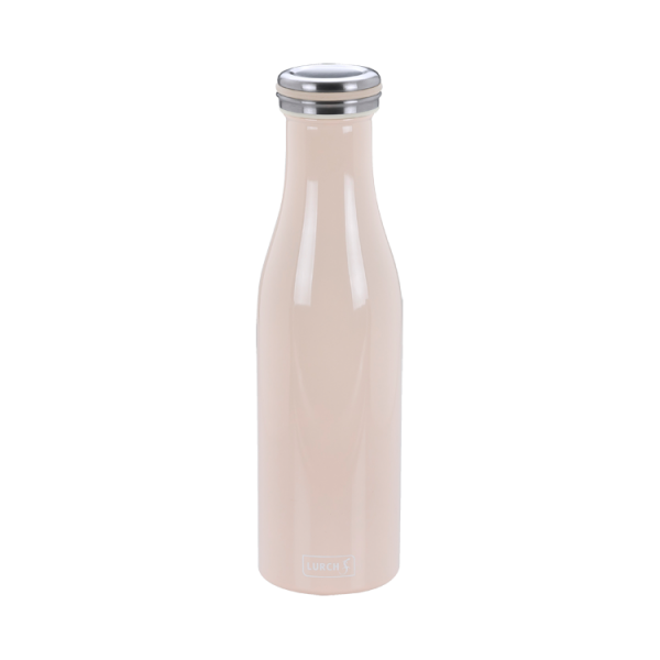 Isolier-Flasche Edelstahl 0,5l nude