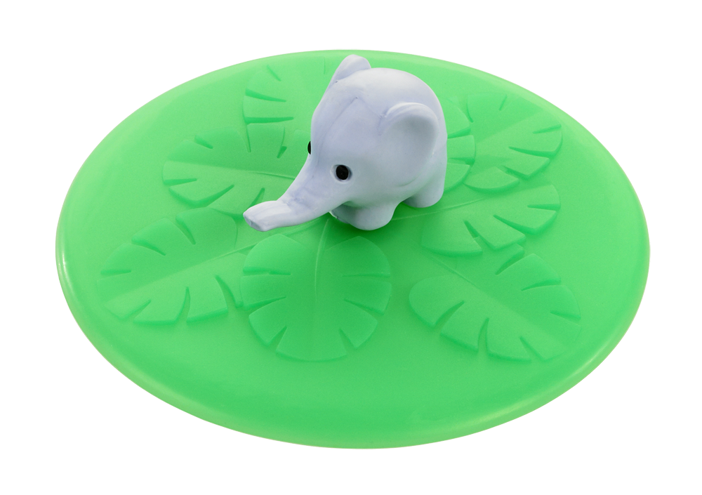 Mein Deckel Wild Life Elefant