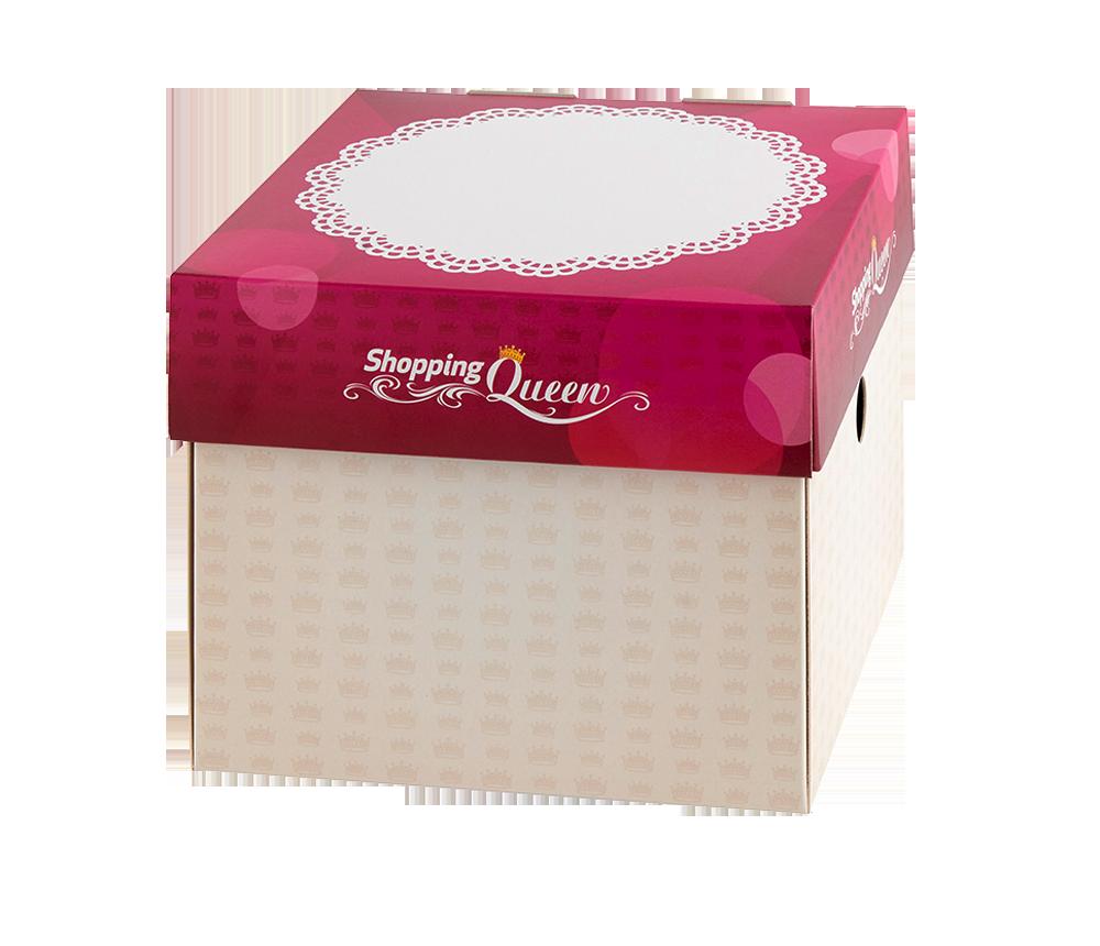 Shopping Queen Geschenktortenschachtel