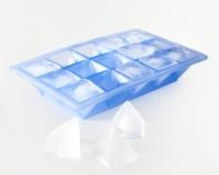 Vorschau: Eiswürfelbereiter Pyramide 3,2x3,2x3cm eisblau