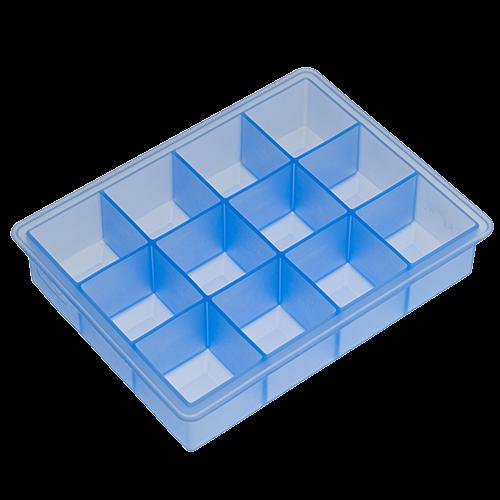 Eisformer Würfel 4x4cm eisblau