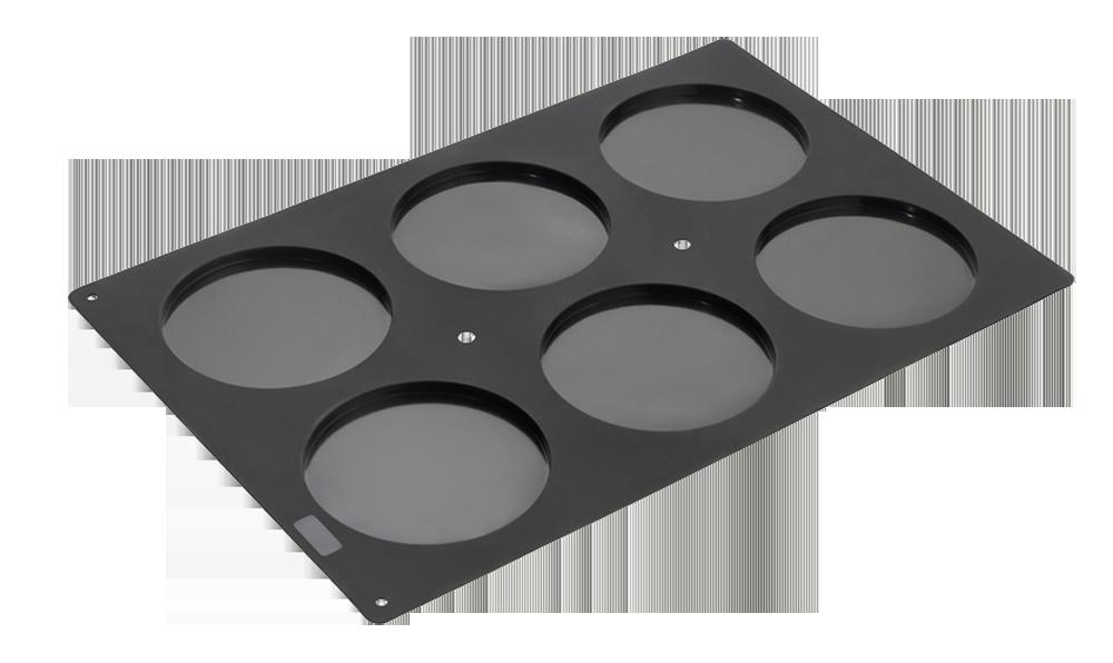 FlexiGastronomie Diskus 6fach 60x40cm