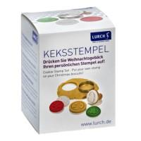 Vorschau: Keksstempel Set Winter 6teilig