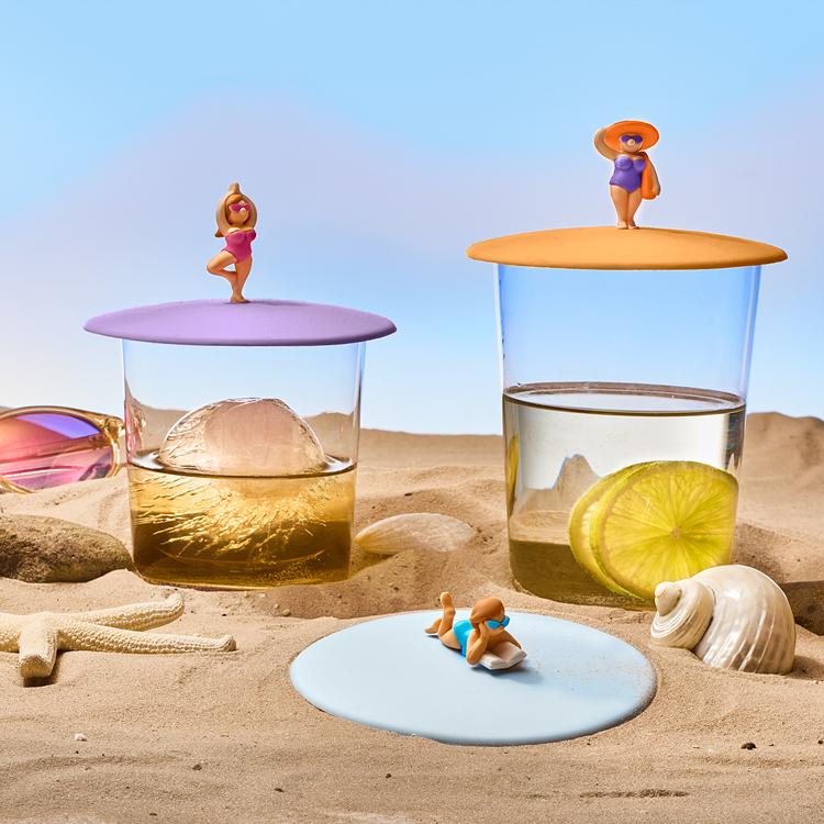 Mein Deckel Beach Girls 3er Set