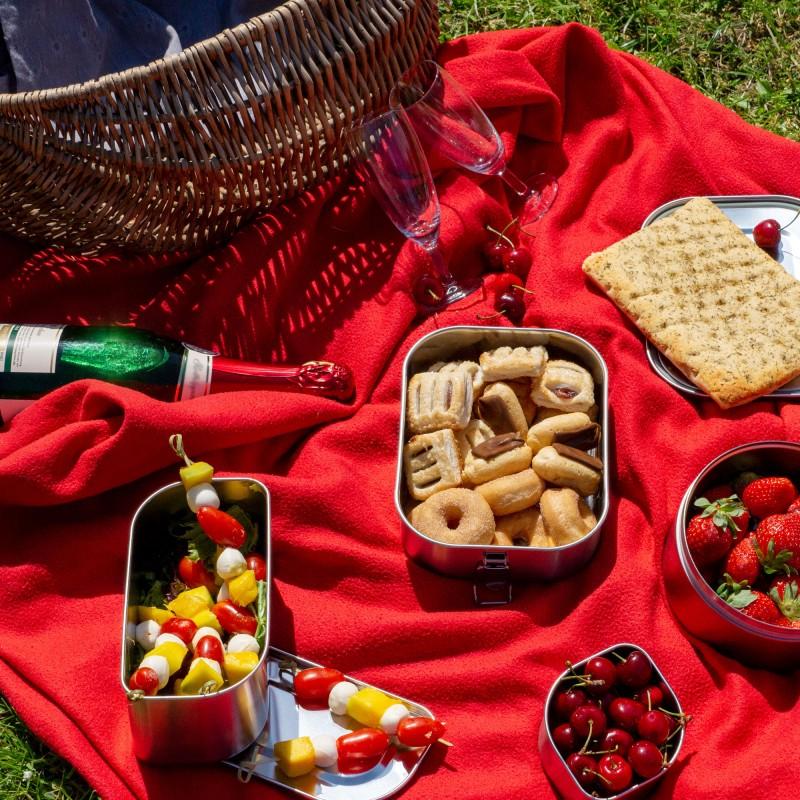 Picknickideen für Verliebte, Valentinstag, zu zweit